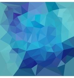 Polygonal design vector image vector image