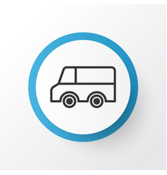 truck icon symbol premium quality isolated lorry vector image