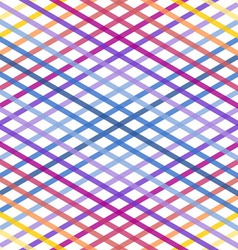 Rainbow Line Texture vector image vector image