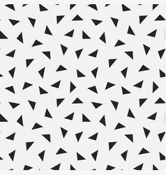repeating geometric tiles from triangles vector image vector image