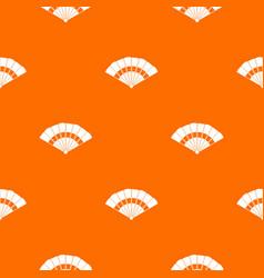 fan pattern seamless vector image