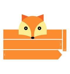 Fox headband vector