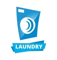 Laundry logo vector