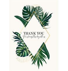 safari palm tropical illustration garden luxury vector image