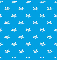 Tap gas pattern seamless blue vector