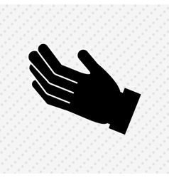 hand human design vector image