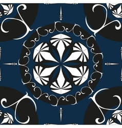 Intricate Ornate Seamless Pattern vector image vector image