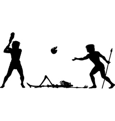 Baseball begins vector image vector image