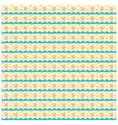 pattern sea vector image