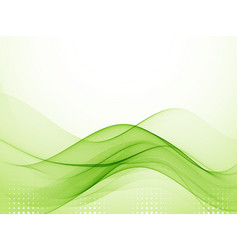 Abstract green background bright vector
