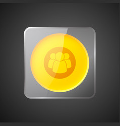 abstract web interface element vector image