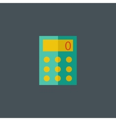 Calculator Flat Icon vector