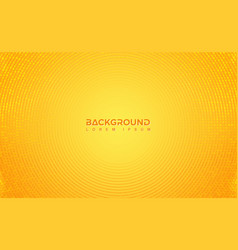 modern orange background design with a vector image