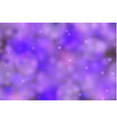 purple magic light in the dark abstract vector image