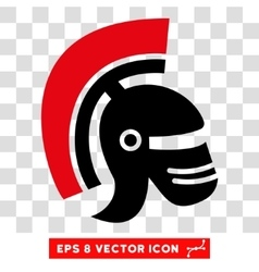 Rome Helmet Eps Icon vector image