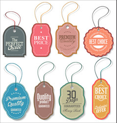 sale tag collection 2 vector image