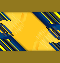 yellow tech background vector image