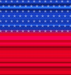 Abstract American Flag for happy 4th of july vector image