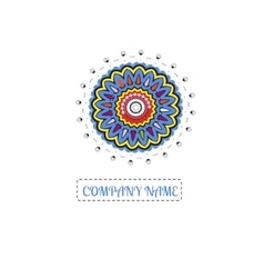 Bright juicy logo Beautiful circular logos Logo vector image vector image