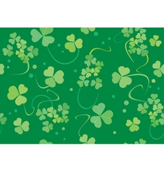 green texture with flora vector image