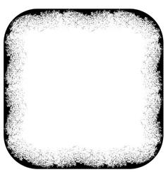 Grunge Frame Silhouette vector image