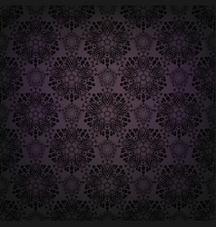 dark lace background vector image