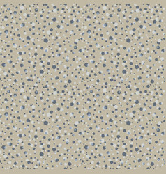 Dense pebble dash speckled rock texture background vector