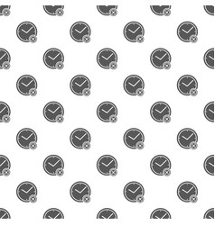 no time pattern seamless vector image