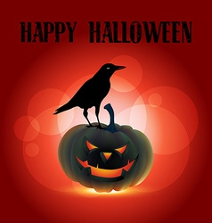 scary halloween design vector image