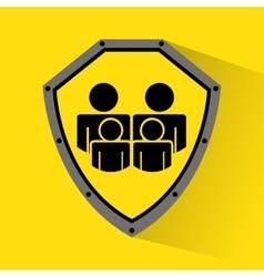 family insurance concept icon vector image