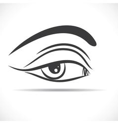 eye s beauty stock vector image vector image