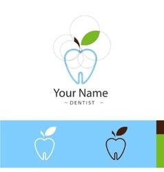 Sample logo for dental surgeries vector
