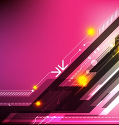 abstract design technology background vector image vector image