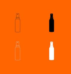 spray icon vector image vector image