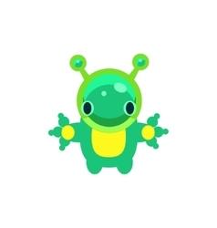 Alien Jelly Toy vector