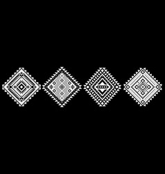 Aztec elements vector