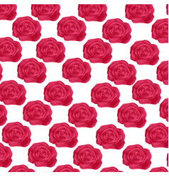 Cute flowers pattern background vector