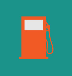 Gas station symbol - gasoline pump petrol symbol vector