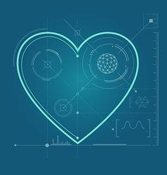Heart preview vector