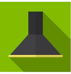 Kitchen hood flat icon vector