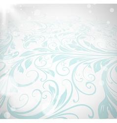 Pastel Floral Background vector image