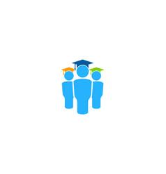 Team education logo icon design vector