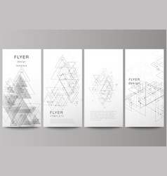 the minimalistic abstract editable layout vector image