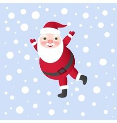 Santa Claus for Christmas Card vector image vector image