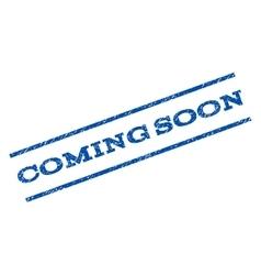 Coming soon watermark stamp vector
