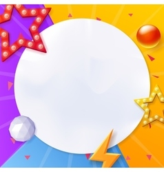 Abstract background colorful background with vector image