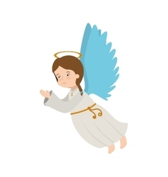 angel wing halo icon vector image