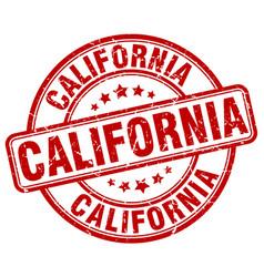 California stamp vector