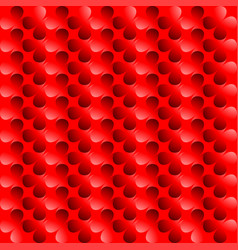 Clover red abstract background vector