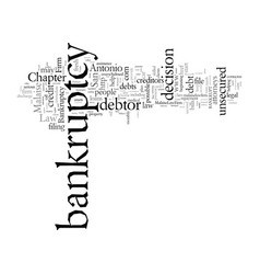 Don t lose your home contact a bankruptcy vector